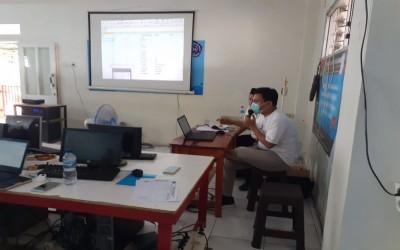 Kegiatan IHT Di SMK Yapisda dalam proses pembelajaran BDR